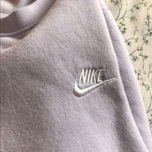 Nike lavender sweatshirt